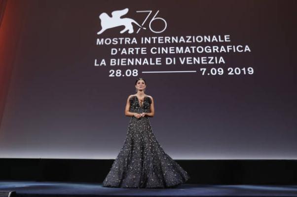 venezia-76-cerimonia-d'apertura-madrina-alessandra-mastronardi-discorso