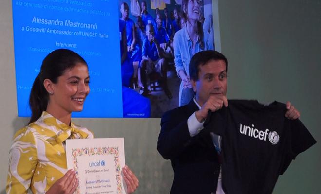 Alessandra Mastronardi eletta Goodwill Ambassador Unicef Italia a Venezia 76 «Sarò in Libano a fine settembre» Cerimonia e Intervista (VIDEO)