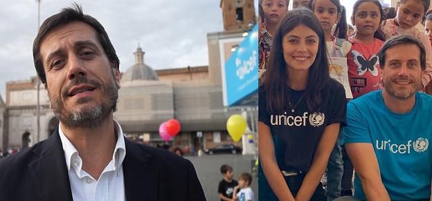 Video Intervista ad Andrea Iacomini «Il mio viaggio in Libano per Unicef con Alessandra Mastronardi» ospite di Prodigi 2019