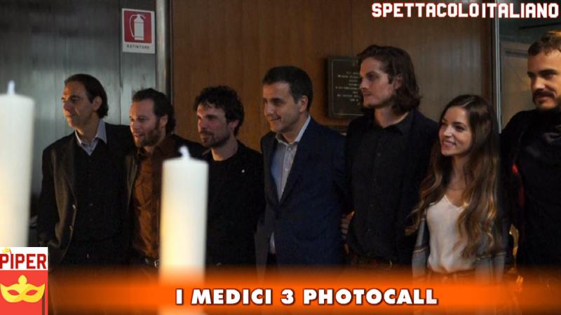 I Medici 3 conferenza stampa photocall con il cast (VIDEO)