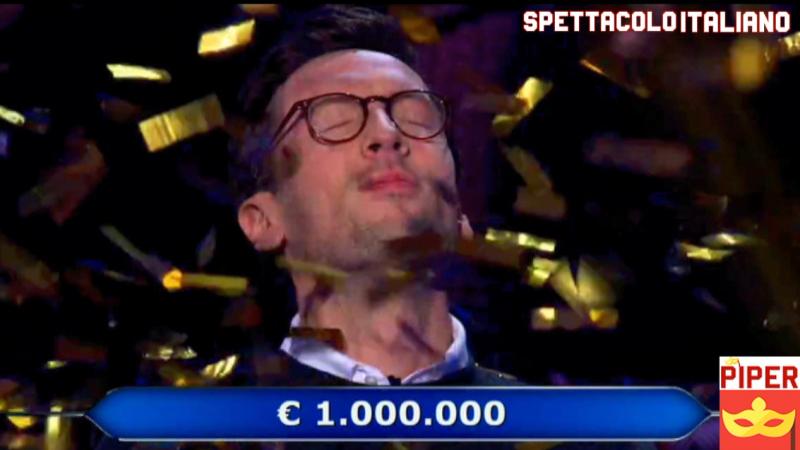 Chi Vuol Essere Milionario Enrico Remigio vince un milione di euro con Gene Cernan (VIDEO)