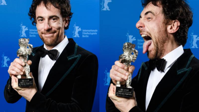 Berlinale 2020, Elio Germano trionfa a Berlino insieme ai fratelli d'Innocenzo «Dedico il premio agli emarginati, Ligabue ci ha dato una grande lezione» (FOTO)