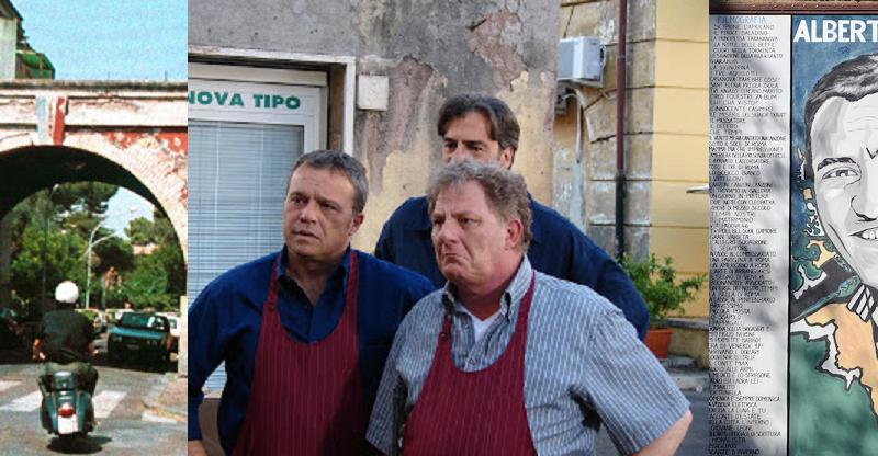 Garbatella 100 anni nello spettacolo italiano: I Cesaroni, Caro Diario di Nanni Moretti, Alberto Sordi e Montesano