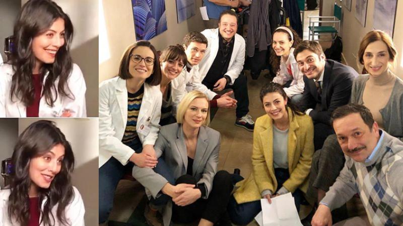 L'Allieva 3 cast al completo, Lino Guanciale e Alessandra Mastronardi tornano in Istituto, set negli studi televisivi Videa