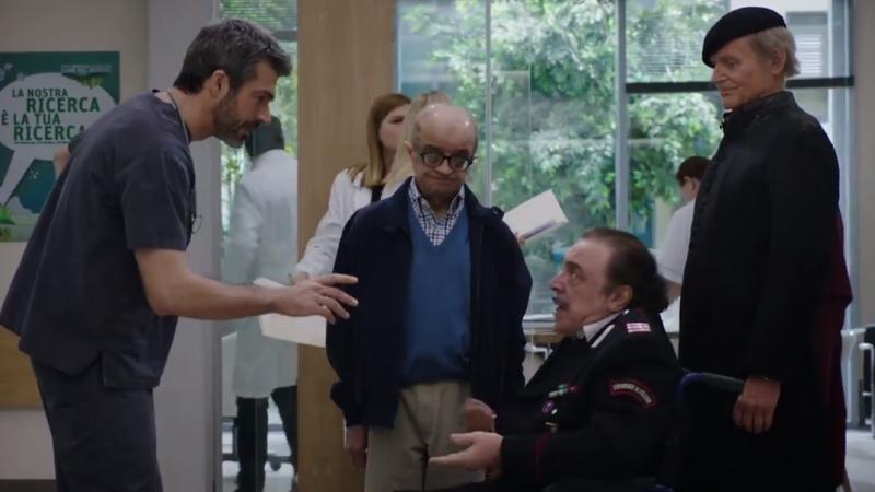 """Crossover Don Matteo con Doc nelle tue Mani, Terence Hill """"benedice"""" l'esordio della nuova fiction con Luca Argentero (VIDEO)"""