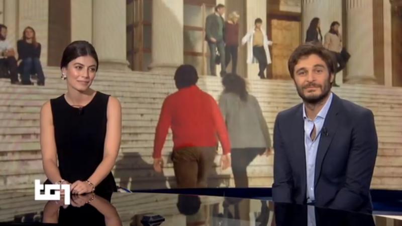 Alessandra Mastronardi e Lino Guanciale ospiti a Domenica In per le repliche de L'Allieva 2, tornano insieme in tv dopo un anno e mezzo