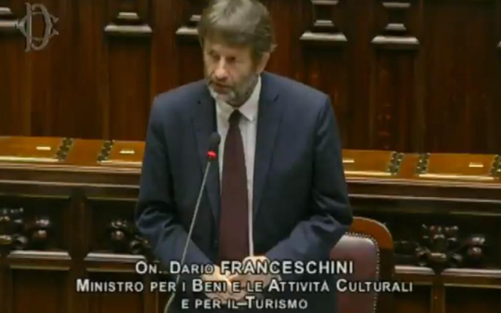 dario-franceschini-fondo-unico-spettacolo