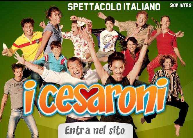 i-cesaroni-sito-homepage
