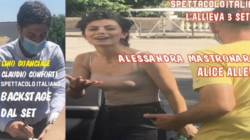 Fine riprese de L'Allieva 3 backstage, anticipazioni e foto dal set con Lino Guanciale, Alessandra Mastronardi e il cast della terza stagione VIDEO