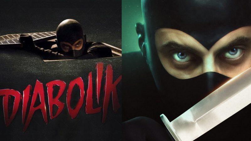 Diabolik il film uscita il 31 dicembre 2020, il poster con Luca Marinelli
