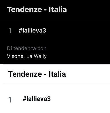 lallieva-3-ascolti-tv-4-ottobre-2020-twitter