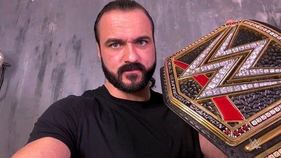 Raw puntata 11 gennaio, Drew McIntyre positivo al Covid-19 sfida Goldberg alla Royal Rumble