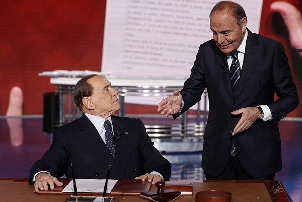 Porta a Porta 25 anni ospiti: Stasera c'è anche Silvio Berlusconi