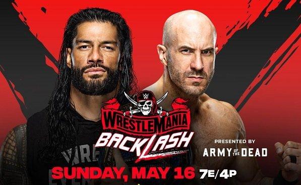 Wrestlemania Backlash match card completa, tutti gli incontri