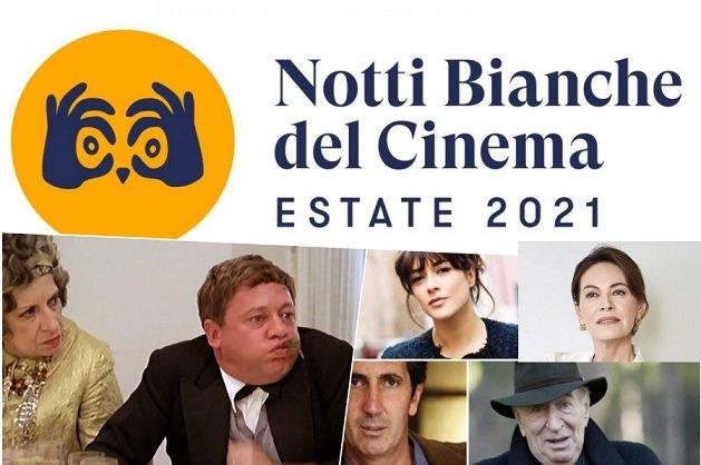 Notti Bianche del Cinema 2021 programma completo, ospiti e film del 2-3 luglio