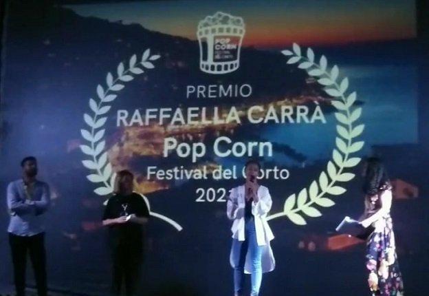Pop Corn Festival del Corto 2021 vincitori quarta edizione, premio Raffaella Carrà