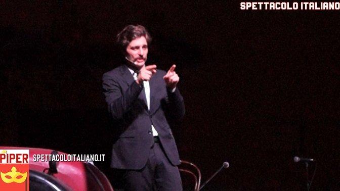 """Lino Guanciale """"Non Svegliate Lo Spettatore"""" a Montorio FOTO e VIDEO. L'appello finale """"Il teatro è un luogo sicuro"""""""