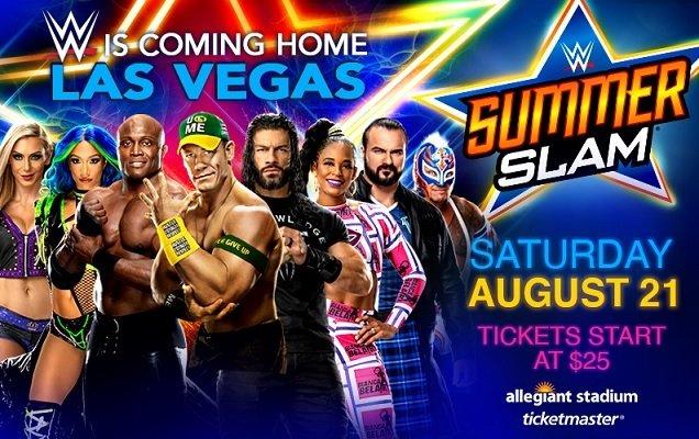 Summerslam 2021 match card e orari, tutti gli incontri dell'evento WWE dell'estate