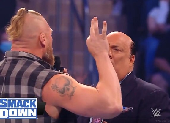 Smackdown 10 settembre 2021: Paul Heyman lascia Roman Reigns per Brock Lesnar (Paul Heyman leave Roman Reigns?)